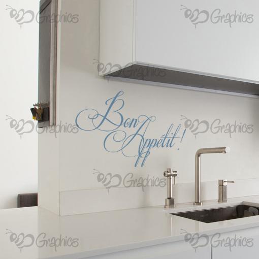Bon Appetit Kitchen Wall Art